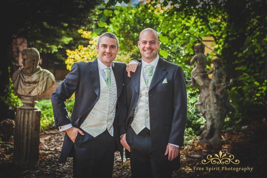 The Queens Hotel wedding