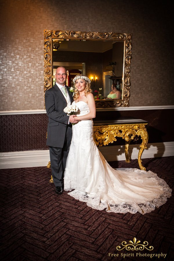 wedding photographer The Queens hotel Chester