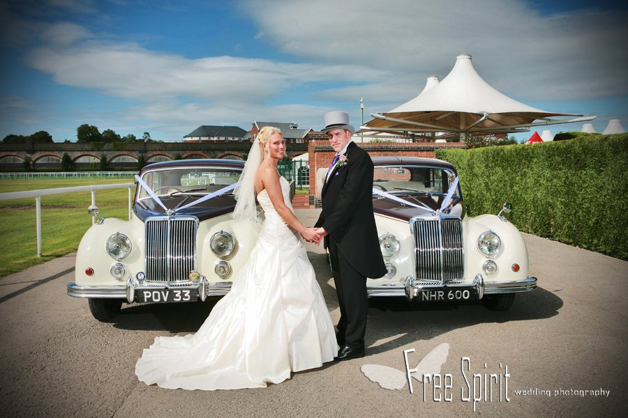 Chester racecourse wedding