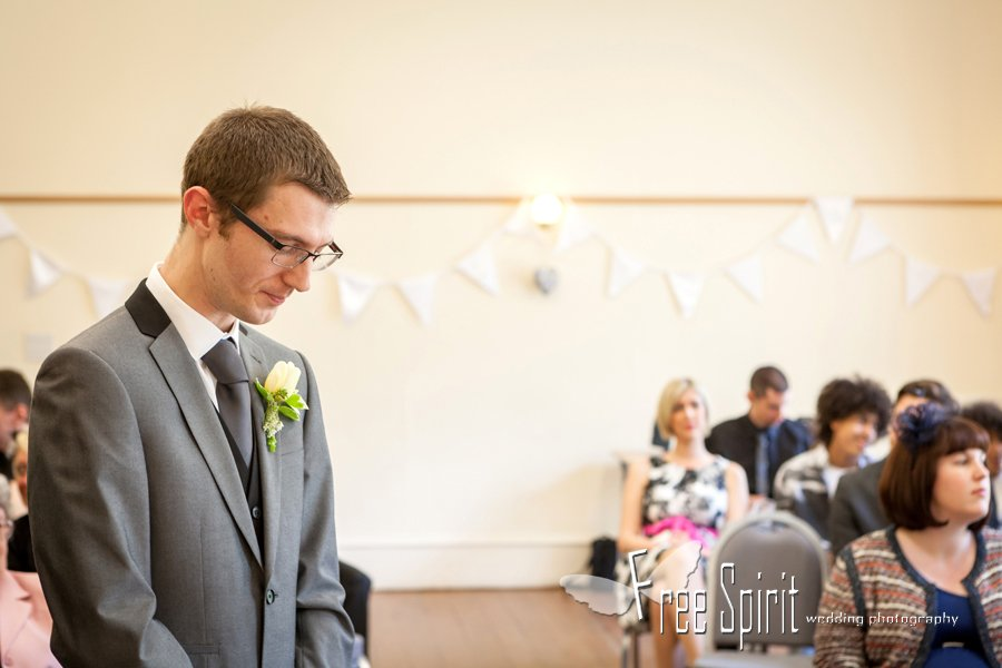 trafford Hall wedding