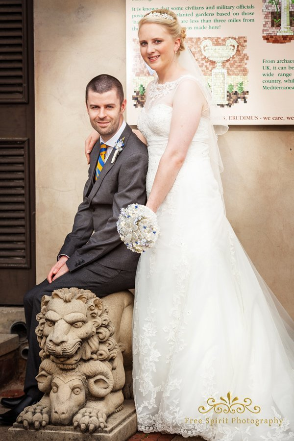 wedding at Chester zoo