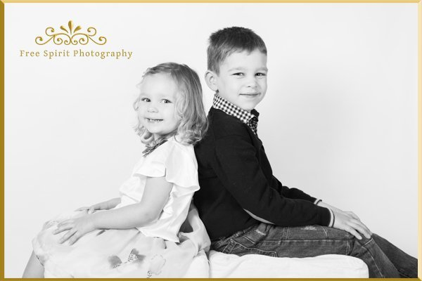 Children's studio photography