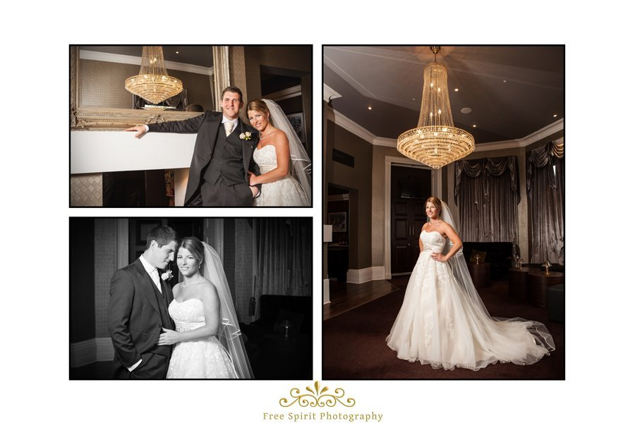 Doubletree Hilton wedding