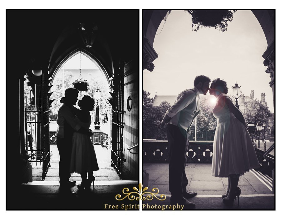 wedding photographer at chester town hall