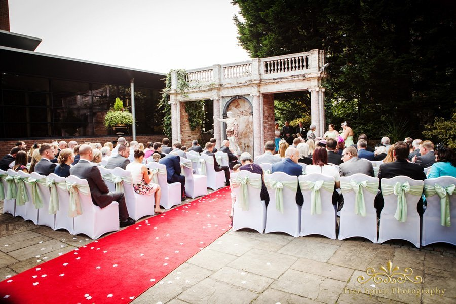 The Queens Hotel wedding