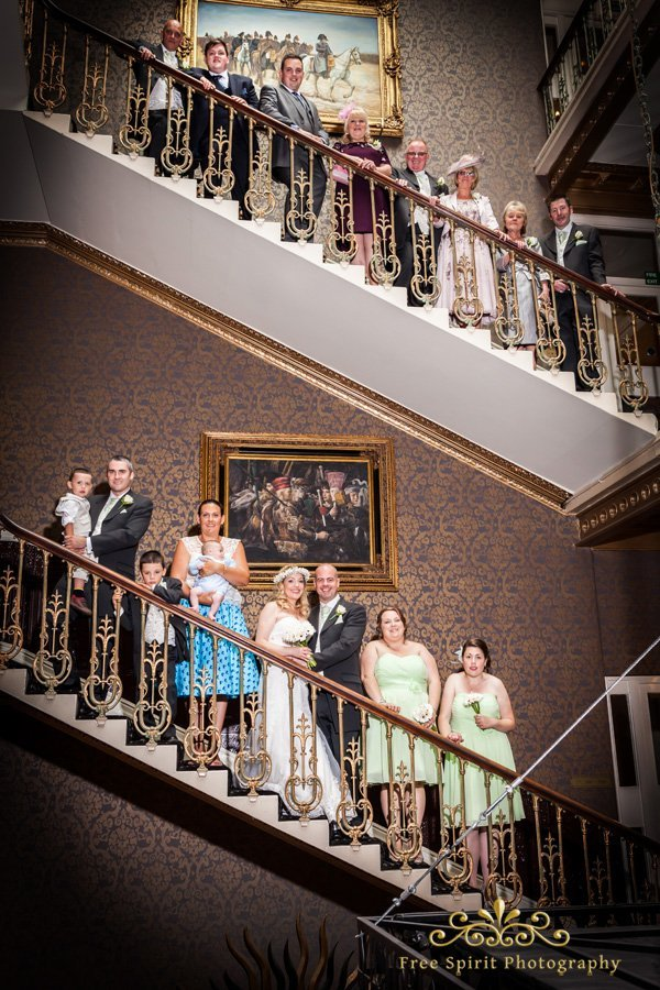 wedding photographs the queens hotel chester
