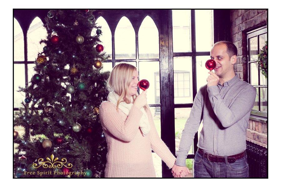 Christmas Pre Wedding Shoot