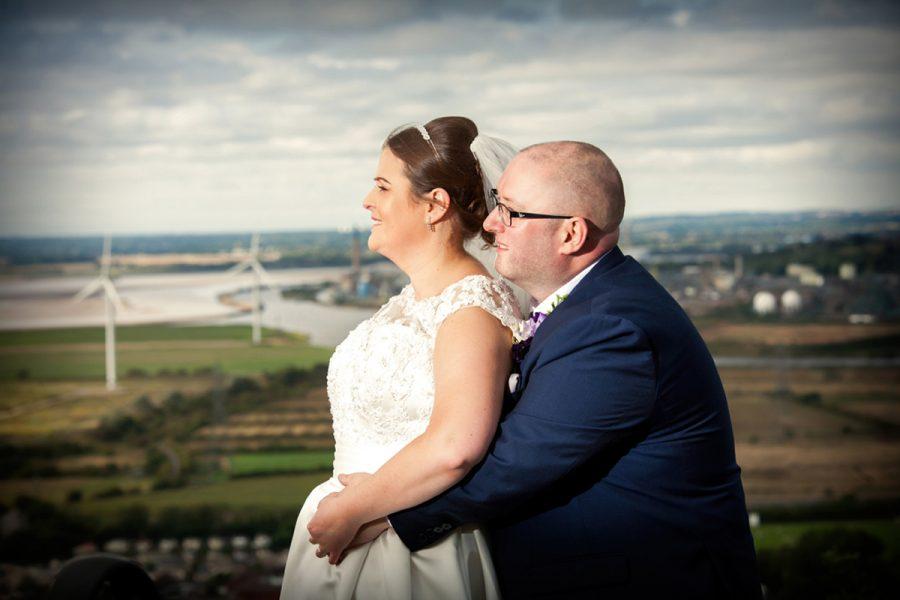 Hilltop wedding