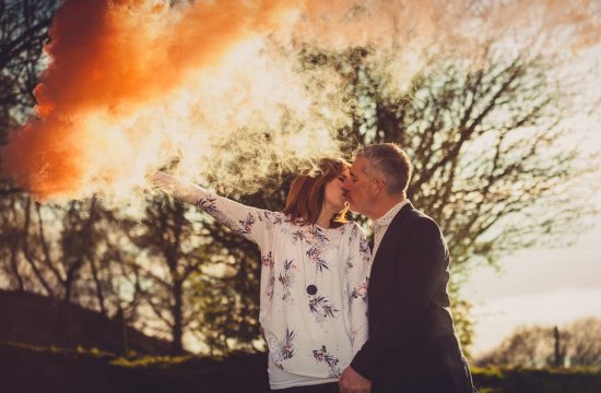 Smoke Bomb Pre-wedding shoot